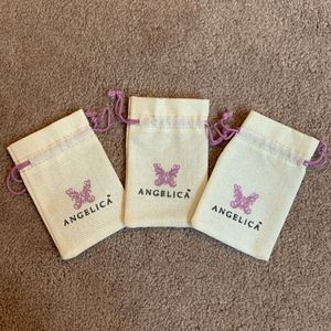 Angelica - Set of 3 Jewelry Bags